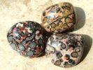 Jaspis - Leopadenfell (Rhyolith)