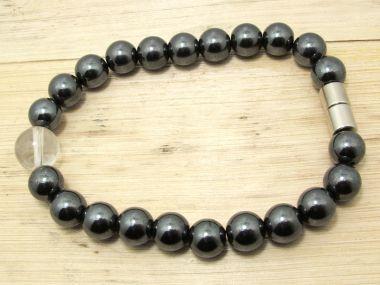 heilsteinwelt bergkristall magnetarmband armband heilsteine kaufen edelsteine. Black Bedroom Furniture Sets. Home Design Ideas