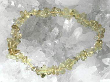 Citrin (natürlich) Trommelstein Armband