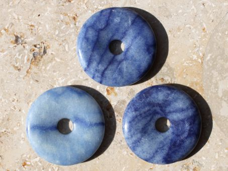 Blauquarz Donut 3 cm