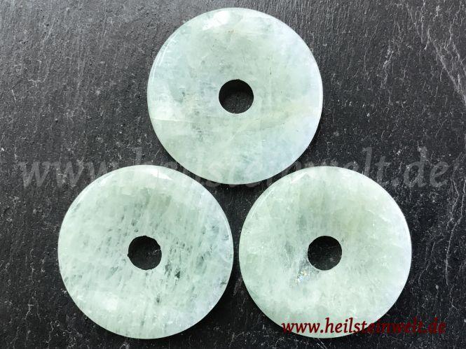 heilsteinwelt aquamarin donut gr nlich 4 cm brasilien heilsteine kaufen edelsteine. Black Bedroom Furniture Sets. Home Design Ideas