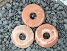 """Baryt """"rot"""" Donut 3cm"""