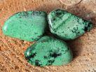 Grossularit Granat Trommelstein