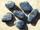 Saphir blau Trommelstein (matt)