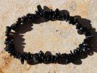 Turmalin schwarz Mini Trommelstein Armband